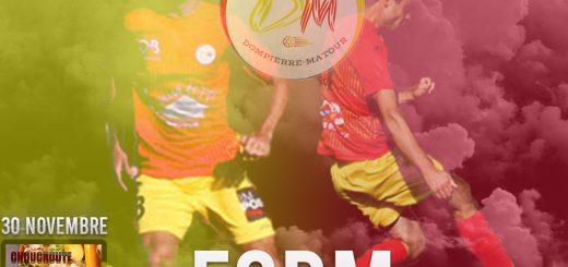 FCDM vs Clessé Affiche