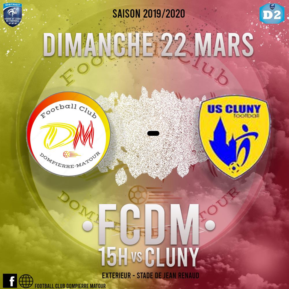 FCDM contre US Cluny B à Jean Renaud