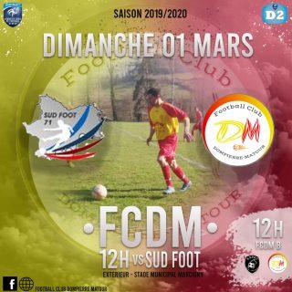Sud Foot B vs FCDM