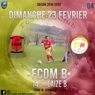 Football Club Dompierre Matour vs Laizé