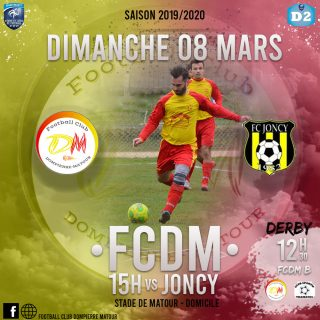 FCDM vs Joncy à Matour