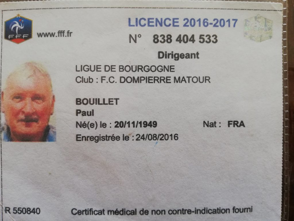 Les grandes figures du FCDM - Paul Bouillet