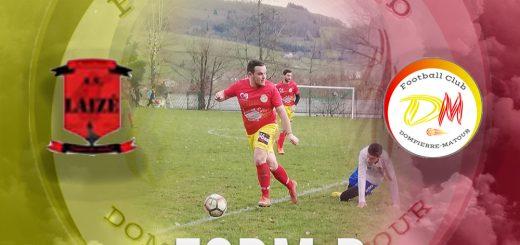 Football Club Dompierre Matour vs Laizé
