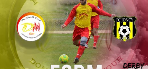 FCDM vs Joncy à Matour