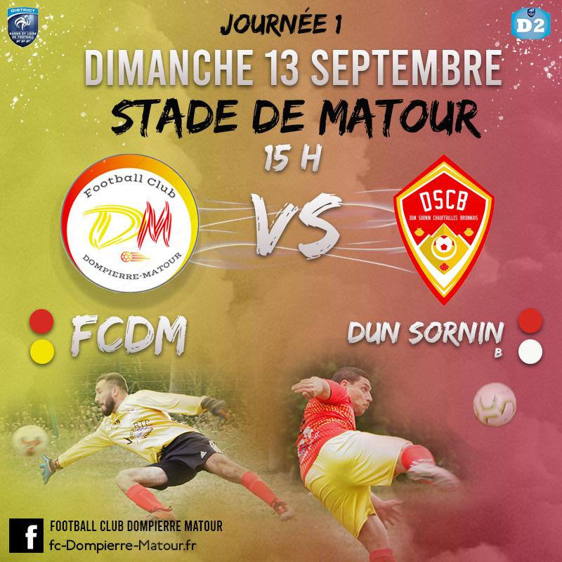 D2 FCDM vs Dun Sornin B